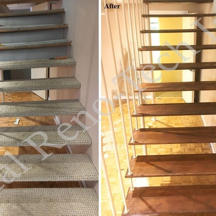 Staircase Renovation Project