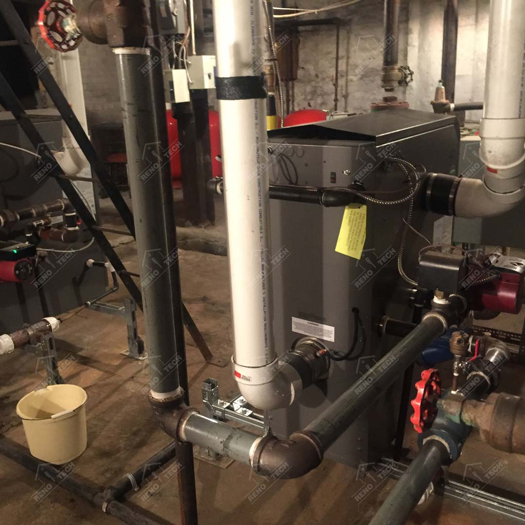 Plumbing Project Heating System