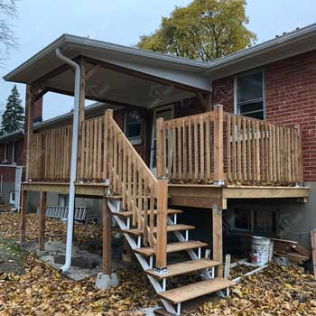 Exterior Deck Renovation Project